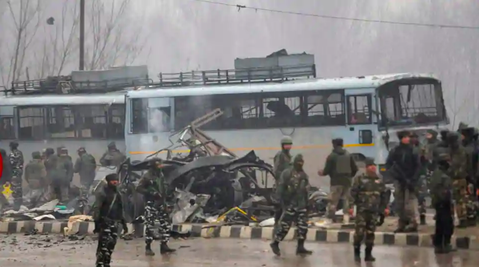 Pulwama Terror Attacked