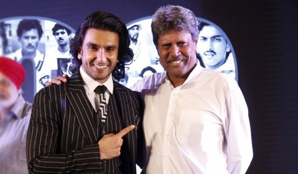 Ranveer Singh shares special pictures on Kapil Dev's birthday Natraj Shot