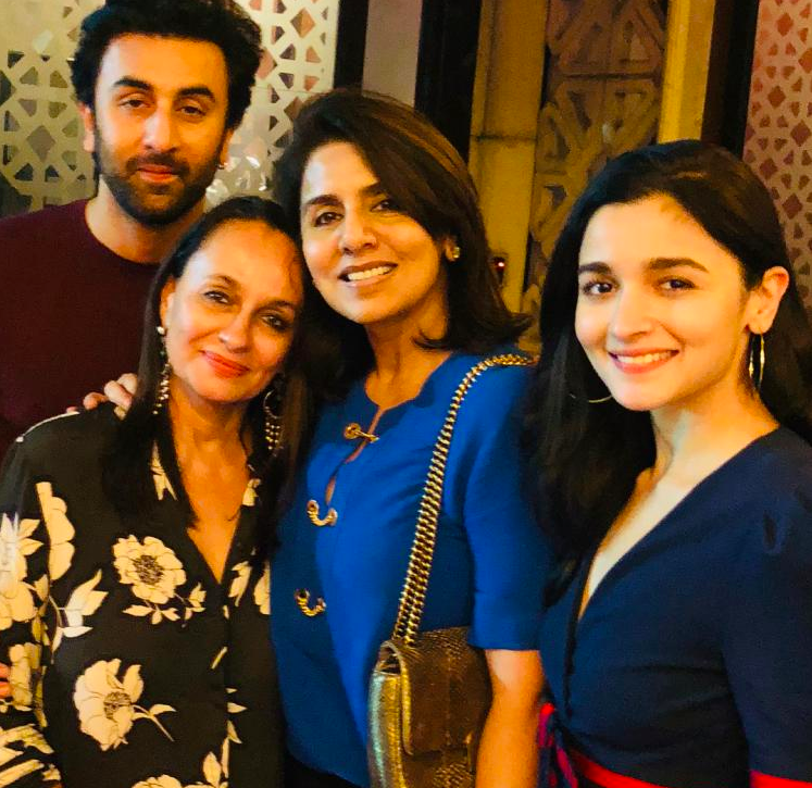 Ranbir Kapoor's Mother