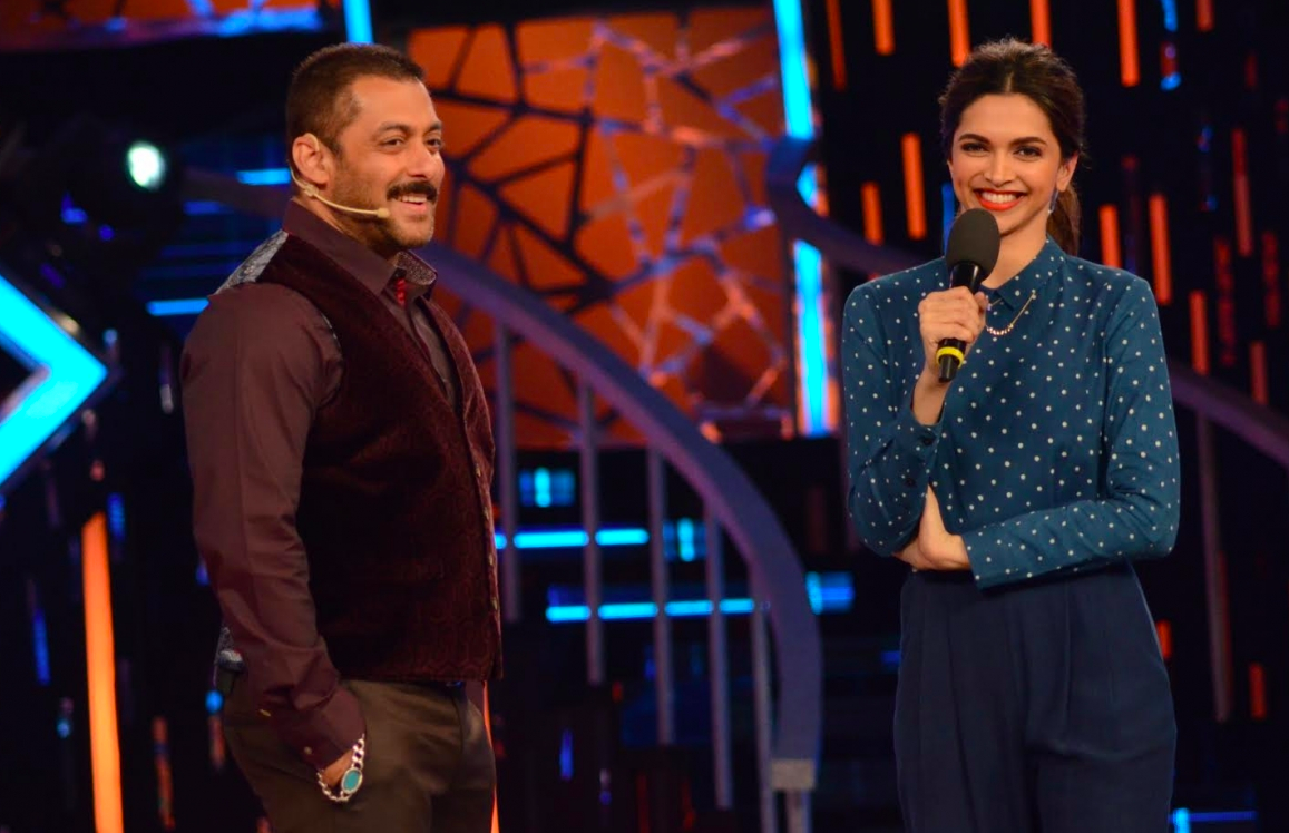 Bigg Boss 13 Deepika Padukone leave without shooting from the Set Midway Salman Khan Show